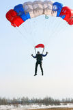 Parachutist Jumper Stock Photography