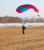 Parachutist Jumper Royalty Free Stock Photos