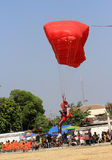 Parachutist Stock Photos