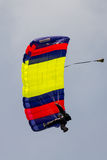 Parachutist Royalty Free Stock Photo