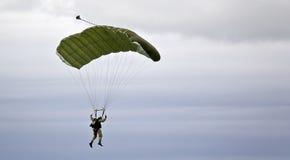 Parachutist militare Fotografie Stock