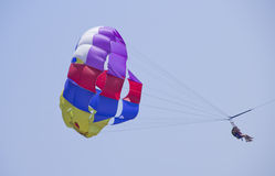 Parachutist  Royalty Free Stock Photo