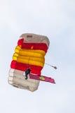 Parachutist PAPEA Стоковые Фото