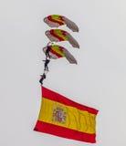 Parachutist PAPEA Стоковое фото RF