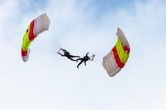 Parachutist PAPEA Стоковое Фото