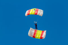 Parachutist of the PAPEA Stock Image