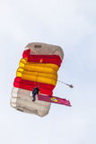 Parachutist of the PAPEA Stock Photos
