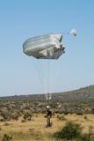 Parachutist at Roodewal Stock Image