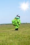 Parachutist Stock Images