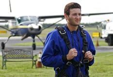 Parachutiste Photo libre de droits