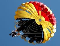 Parachutiste Photographie stock libre de droits