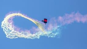 Parachutiste de la commande d'opérations spéciales d'armée d'Etats-Unis, USASOC photos libres de droits