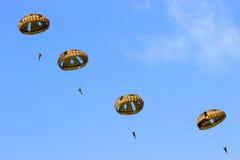 Parachutistes Photo libre de droits