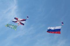 parachutistes Image libre de droits