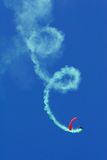 Parachutistkunstfliegen Stockbild