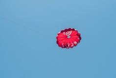 Parachutists в облаках Стоковое Изображение RF