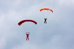parachutists 2 Стоковое Изображение