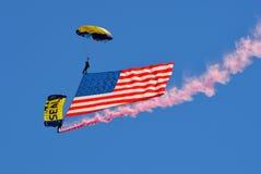 parachutists Стоковые Изображения RF