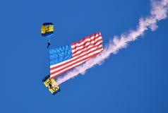 Parachutists Royalty Free Stock Image
