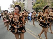 parad kobiety Zdjęcie Royalty Free
