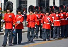 parada żołnierz Obraz Royalty Free