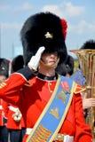 Parada żołnierz Królewski 22nd pułk Zdjęcie Royalty Free