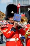 Parada żołnierz Królewski 22nd pułk Obraz Royalty Free