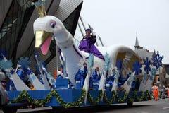 A parada 2008 de Papai Noel Foto de Stock Royalty Free
