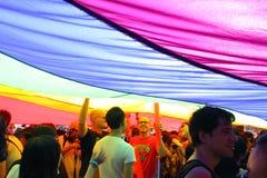 Parada 2009 do orgulho de Hong Kong Imagens de Stock