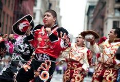 Parada 2010 da dança de New York Fotografia de Stock Royalty Free