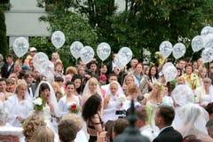 Parada 2010 das noivas Imagem de Stock