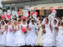 Parada 2010 das noivas Foto de Stock