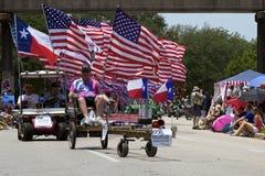 Parada 2011 do carro da arte de Houston Fotografia de Stock Royalty Free