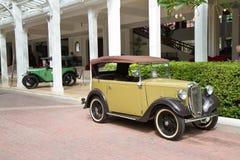 Parada 2011 do carro do vintage de Hua Hin Fotos de Stock Royalty Free
