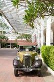 Parada 2011 do carro do vintage de Hua Hin Imagens de Stock