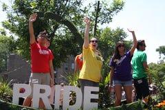 Parada 2011 do orgulho de Chicago Foto de Stock