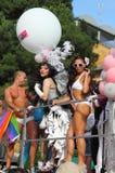 Parada 2011 do orgulho de Roma euro- Foto de Stock Royalty Free