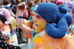 Parada 2012 de Zinneke em Bruxelas Imagens de Stock Royalty Free