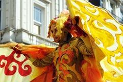 Parada 2012 de Zinneke em Bruxelas Fotos de Stock Royalty Free