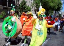 Parada alegre 2011 do orgulho de Toronto Fotografia de Stock