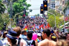 Parada alegre de Telavive 2010 Imagem de Stock Royalty Free