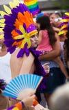 Parada alegre do orgulho Fotografia de Stock Royalty Free