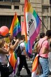 Parada alegre do orgulho Foto de Stock