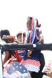 Parada americana do Dia da Independ?ncia fotografia de stock royalty free