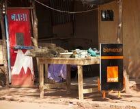 Parada anaranjada en Bamako fotos de archivo libres de regalías