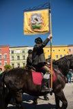 Parada anual do ` s de StGeorge Fotografia de Stock