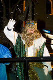 Parada bíblica dos Magi em Spain Foto de Stock Royalty Free