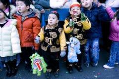 parada chiński nowy rok Zdjęcie Stock