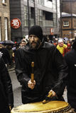Parada chinesa da rua do ano novo de Liverpool Fotografia de Stock
