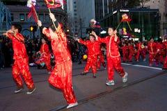 Parada chinesa do ano 2012 novo em San Francisco Imagem de Stock Royalty Free